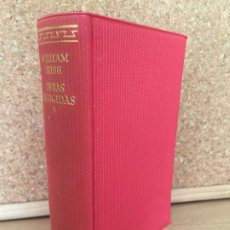 Libros de segunda mano: OBRAS ESCOGIDAS - WILLIAM IRISH - AGUILAR / EL LINCE ASTUTO - 1960 - GCH. Lote 183888966
