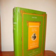 Libros de segunda mano: CORRESPONDENCIA. VOLUMEN V. 1888-1894 - JUAN VALERA - EDITORIAL CASTALIA, NUEVO, PRECINTADO. Lote 183902512