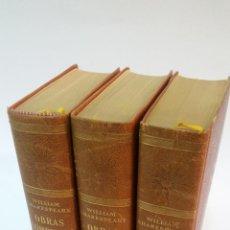 Libros de segunda mano: 1960 - SHAKESPEARE - OBRAS COMPLETAS - LUIS ASTRANA MARÍN, 3 TOMOS, VERGARA. Lote 223440281