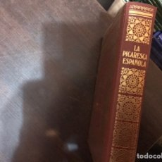 Libros de segunda mano: LA PICARESCA ESPAÑOLA. BIBLIOTECA DE LOS GRANDES CLÁSICOS. Lote 183920667