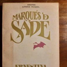 Libros de segunda mano: ERNESTINA SADE. Lote 184484253