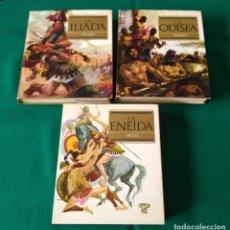 Libros de segunda mano: LA ILIADA - LA ODISEA - HOMERO - LA ENEIDA - VIRGILIO - VERON EDITOR - PRIMERA EDICIÓN 1968. Lote 184562746