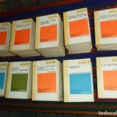Libros de segunda mano: LOTE 86 NºS BIBLIOTECA BÁSICA SALVAT LIBRO LIBROS RTV. AÑO 1969. BUEN ESTADO.. Lote 213398918