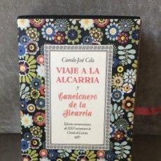 Libros de segunda mano: CAMILO J. CELA - VIAJE A LA ALCARRIA Y CANCIONERO - CÍRCULO DE LECTORES, 1987 - BELLA EDICIÓN. Lote 186244445