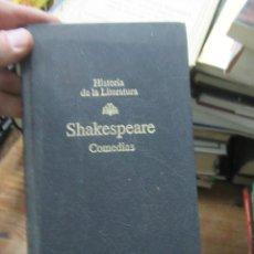 Libros de segunda mano: COMEDIAS, SHAKESPEARE. L.9309-399. Lote 186401301