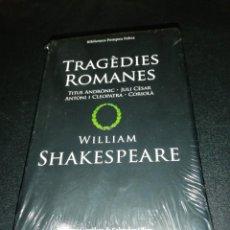 Libros de segunda mano: WILLIAM SHAKESPEARE, TRAGEDIES ROMANCES, BIBLIOTECA POMPEU FABRA. Lote 187131871