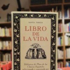 Libros de segunda mano: LIBRO DE LA VIDA - SANTA TERESA. Lote 188544063