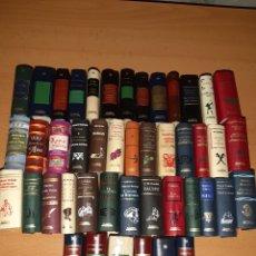 Libros de segunda mano: LOTE 45 MINI LIBROS. JOYAS EN MINIATURA, GRANDES OBRAS EN MINIATURA.. Lote 188546116