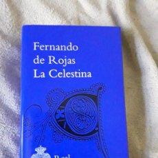 Libros de segunda mano: LA CELESTINA. FERNANDO DE ROJAS. REAL ACADEMIA ESPAÑOLA, 2011. ESCASO. MAGNIFICO ESTADO.. Lote 189093038