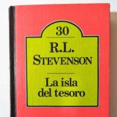 Libros de segunda mano: LA ISLA DEL TESORO DE R. L. STEVENSON BRUGUERA CLUB Nº 30. Lote 189216796