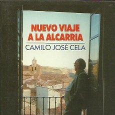Libros de segunda mano: NUEVO VIAJE A LA ALCARRIA. CAMILO JOSÉ CELA. PLAZA Y JANÉS 1987. Lote 189877992
