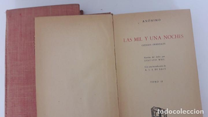 Libros de segunda mano: LAS MIL Y UNA NOCHES. 3 tomos editorial IBERIA, 1956. - Foto 6 - 189900728