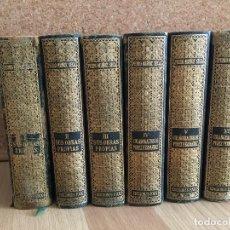 Libros de segunda mano: LOTE 6 TOMOS OBRAS COMPLETAS DE DON PEDRO MUÑOZ SECA - EDICIONES FAX - GCH1. Lote 190205992