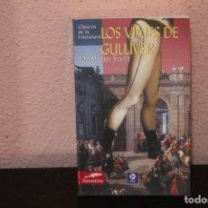 Libros de segunda mano: LOS VIAJES DE GULLIVER POR JONATHAN SWIFT. Lote 190299023