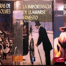 Libros de segunda mano: CONAN DOYLE / WILDE. 3 TITULOS. Lote 190501515