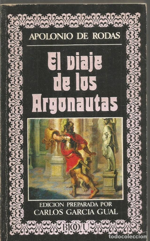 APOLONIO DE RODAS. EL VIAJE DE LOS ARGONAUTAS. EDITORA NACIONAL (Libros de Segunda Mano (posteriores a 1936) - Literatura - Narrativa - Clásicos)