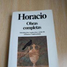 Libros de segunda mano: OBRAS COMPLETAS / HORACIO / PLANETA. Lote 191175888