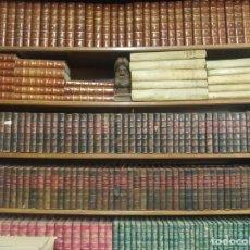 Libros de segunda mano: IMPONENTE COLECCIÓN DE LOS CLÁSICOS CASTELLANOS. 97 TOMOS. 1ª EDICIÓN TODOS. PASTA ESPAÑOLA. 1910-30. Lote 191366576