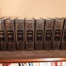 Libros de segunda mano: BALZAC. OBRAS COMPLETAS. 10 TOMOS. AGUILAR. NUEVO. Lote 191402598