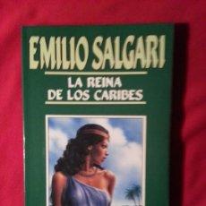 Libros de segunda mano: LA REINA DE LOS CARIBES - EMILIO SALGARI - EMILIO SALGARI 29. Lote 191685763
