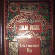Libros de segunda mano: LOS HERMANOS KIP. JULIO VERNE. Lote 191787072