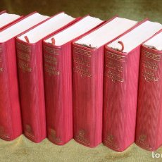 Libros de segunda mano: COLECCIÓN OBRAS ESCOGIDAS DE AGATHA CHRISTIE,SEIS TOMOS,EDITORIAL AGUILAR,1962.. Lote 192343857