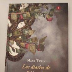 Libros de segunda mano: LOS DIARIOS DE ADÁN Y EVA- MARK TWAIN. Lote 192657505