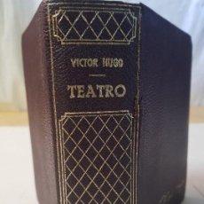 Libros de segunda mano: VICTOR HUGO - TEATRO COMPLETO - ED. LORENZANA - AÑO 1969 1ª EDICIÓN. Lote 192668640