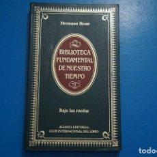 Libros de segunda mano: LIBRO DE BAJO LAS RUEDAS DE HERMANN HESSE AÑO 1985 Nº 75 DE ALIANZA EDITORIAL LOTE 7***LEER. Lote 192956255