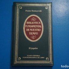 Libros de segunda mano: LIBRO DE EL JUGADOR DE FIODOR DOSTOYEVSKI AÑO 1984 Nº 41 DE ALIANZA EDITORIAL LOTE O ***LEER. Lote 192956998