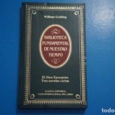 Libros de segunda mano: LIBRO DE EL DIOS ESCORPION... DE WILLIAM GOLDING AÑO 1984 Nº 13 DE ALIANZA EDITORIAL LOTE O ***LEER. Lote 192958103