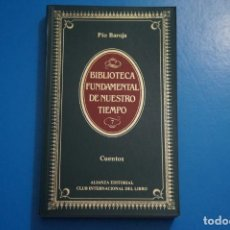 Libros de segunda mano: LIBRO DE CUENTOS DE PIO BAROJA AÑO 1984 Nº 7 ALIANZA EDITORIAL LOTE P***LEER. Lote 192962468
