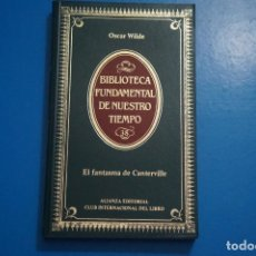 Libros de segunda mano: LIBRO DE EL FANTASMA DE CANTERVILLE DE OSCAR WILDE AÑO 1984 Nº 38 ALIANZA EDITORIAL LOTE P***LEER. Lote 192962713