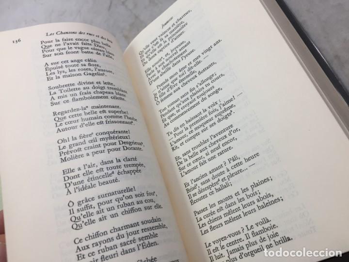 Libros de segunda mano: oeuvres poetiques tome III bibliotheque de la pleiade 1974 - Foto 5 - 193028608