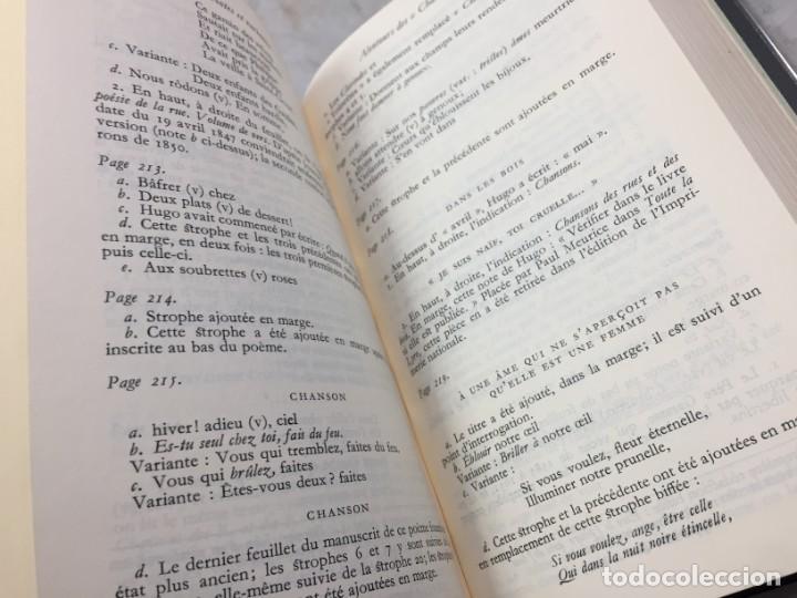 Libros de segunda mano: oeuvres poetiques tome III bibliotheque de la pleiade 1974 - Foto 9 - 193028608