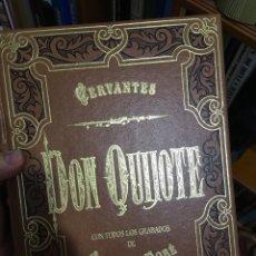Libros de segunda mano: DON QUIJOTE - ILUSTRACIONES GUSTAVO DORE - AGUILAR 4 TOMOS. Lote 193079137