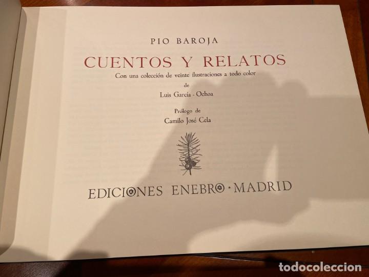 Libros de segunda mano: CUENTOS Y RELATOS DE PIO BAROJA - Foto 2 - 193266555