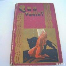 Libros de segunda mano: QUO VADIS CALLEJA. Lote 193315850