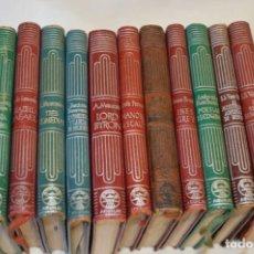 Libros de segunda mano: CRISOL / AGUILAR - AÑOS 50 / LOTE ANTIGUO 12 EJEMPLARES / TÍTULOS VARIADOS ¡MIRA FOTOS Y DETALLES!. Lote 193808967