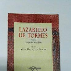 Libros de segunda mano: LAZARILLO DE TORMES COLECCIÓN AUSTRAL. Lote 194205565