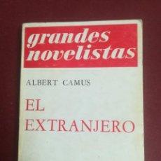 Libros de segunda mano: EL EXTRANJERO. ALBERT CAMUS. EMECÉ EDITORES. 1969.. Lote 194214128