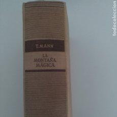 Libros de segunda mano: LA MONTAÑA MÁGICA DE THOMAS MANN. EDICIÓN AÑO1947. Lote 194214683