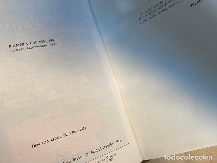 Libros de segunda mano: Libro de las mil y una noches - 3 tomos aguilar - completa - 1ª reimpresion 1971 - Perfectos - Foto 5 - 194243593