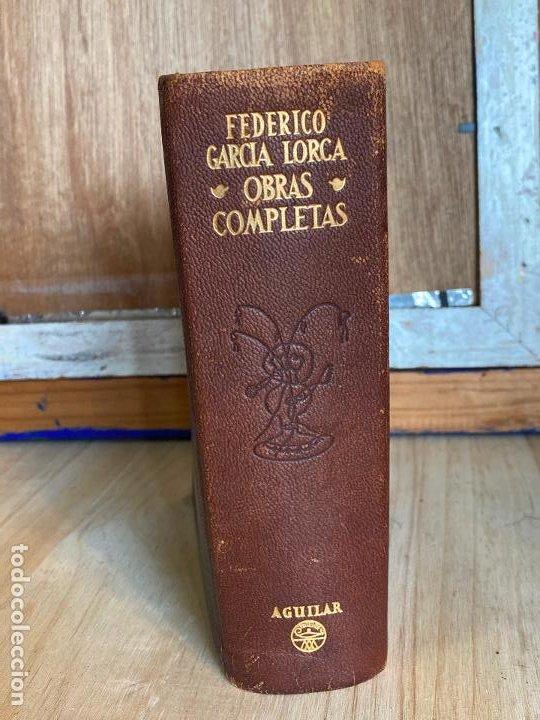 OBRAS COMPLETAS DE FEDERICO GARCIA LORCA - 1954 - 1A EDICION - AGUILAR (Libros de Segunda Mano (posteriores a 1936) - Literatura - Narrativa - Clásicos)