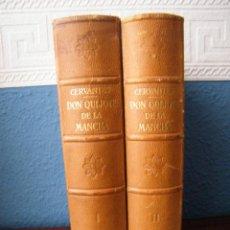 Libros de segunda mano: DON QUIJOTE DE LA MANCHA (DOS TOMOS) - MIGUEL DE CERVANTES - EDITORIAL LABOR - BARCELONA. Lote 194273166