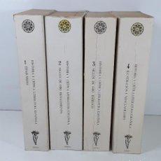 Libros de segunda mano: HISTORIA Y CRÍTICA DE LA LITERATURA ESPAÑOLA. 4 TOMOS. F. RICO. EDIT. CRÍTICA.. Lote 194276377