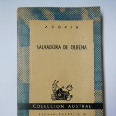 Libros de segunda mano: SALVADORA DE OLBENA. AZORÍN. 1953. Lote 194317645