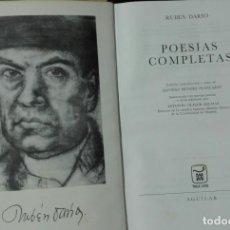 Libros de segunda mano: RUBÉN DARÍO. POESÍAS COMPLETAS. . Lote 194345855