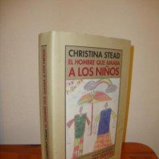 Libros de segunda mano: EL HOMBRE QUE AMABA A LOS NIÑOS - CHRISTINA STEAD - EDITORIAL PRE-TEXTOS. Lote 194356825