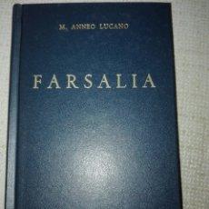 Libros de segunda mano: M. ANNEO LUCANO FARSALIA: 071 B. CLÁSICA GREDOS. Lote 194357032